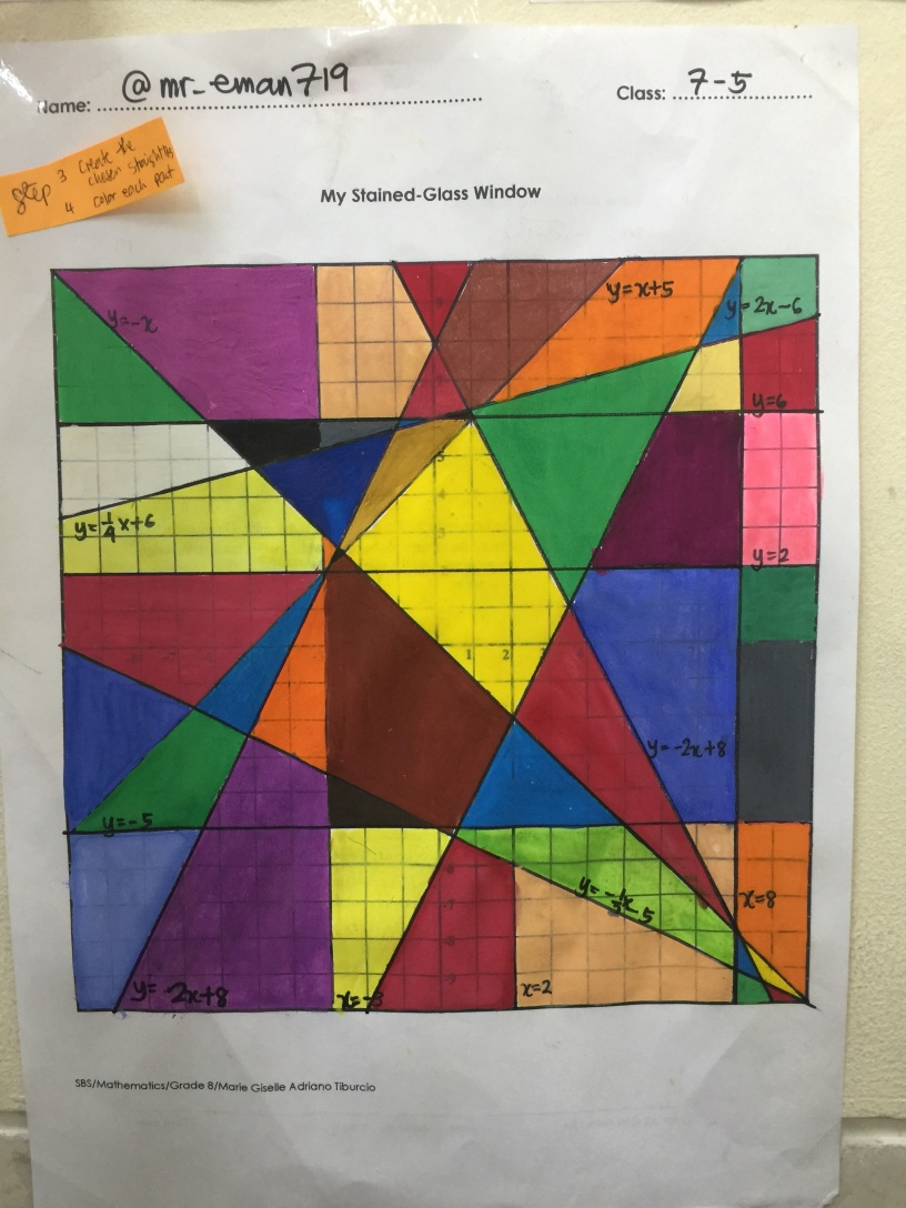 My Stained-Glass Window Project – Math Medicine